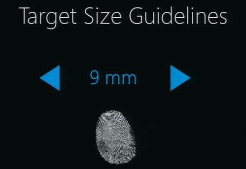 target size 9