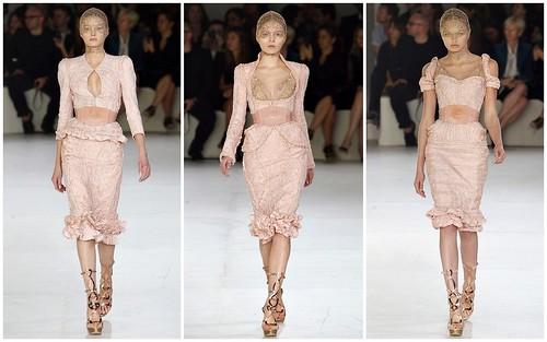 2012 Alexander McQueen 春夏巴黎時裝週3