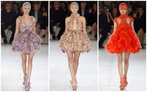 2012 Alexander McQueen 春夏巴黎時裝週5
