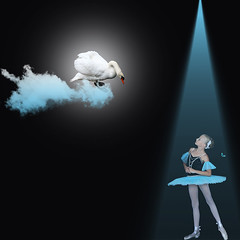 Dream of the Blue Ballerina photo by Eve Livesey