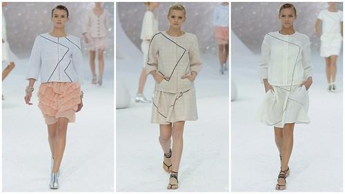 2012 Chanel 春夏巴黎時裝週9