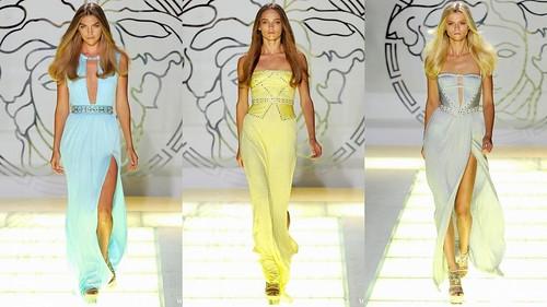 2012 Versace 春夏米蘭時裝週8