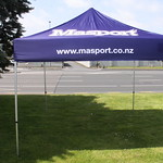 3m x 3m Gazebo 2 Go with full coloured canopy for Masport NZ