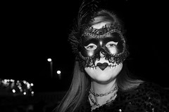 Masked Woman photo by shaire productions