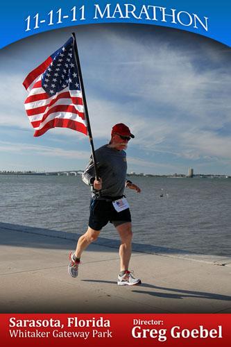 11-11-11 Marathon Sarasota Florida.