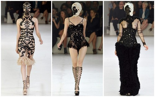 2012 Alexander McQueen 春夏巴黎時裝週1