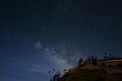 Milky way over Dieng Plateau 2 photo by Choice Kurniawan