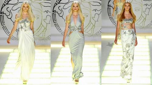 2012 Versace 春夏米蘭時裝週9