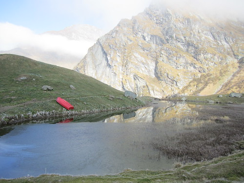 Lago all'Alpe Campo