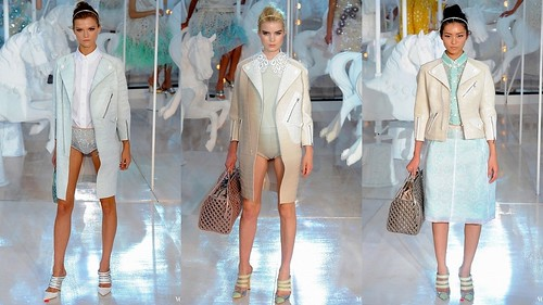 2012 Louis Vuitton 春夏巴黎時裝週8