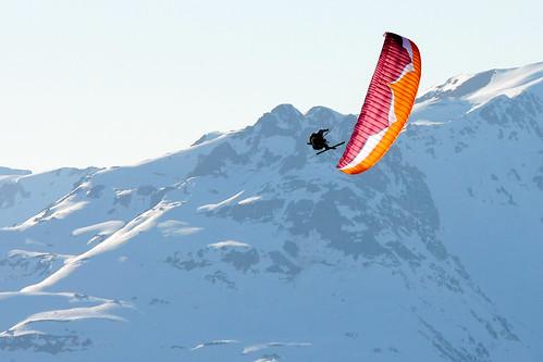 Parapente, Alpes