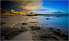 Ciel menaçant (une autre variante) Porz Poulhan - Finistère - Brittany - France photo by Ronan Follic photographies