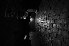 The Alleyway Stranger - Film Noir Style photo by Leonie Carr