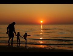 Sunset Zandvoort Beach photo by Hindrik S