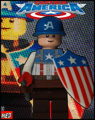 Lego Captain America photo by Med PhotoBlog