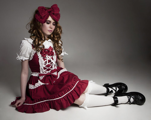 Katie in Les Filles Élégantes: A Lolita Collection photo by Sayuri Standing