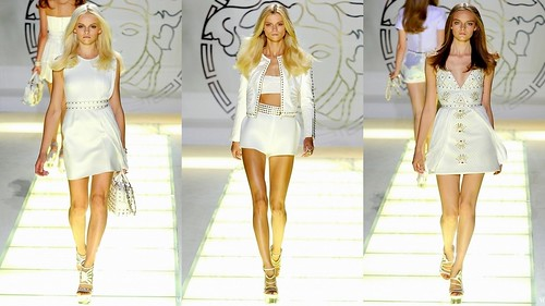 2012 Versace 春夏米蘭時裝週2