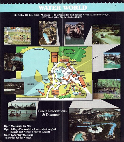 Styx River Water World Map