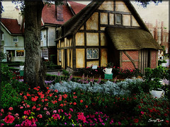 EPCOT - English Tea Garden [Explored] photo by SunyFLx4
