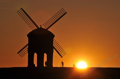 Chesterton Windmill (The Photographer) photo by JRT ©