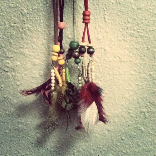 New Feather Lariats