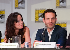sarah wayne callies and andrew lincoln photo by Joits