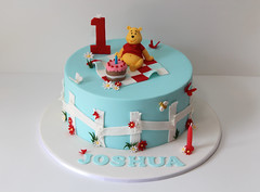 Winnie the Pooh Cake photo by Creative Cakes by Julie