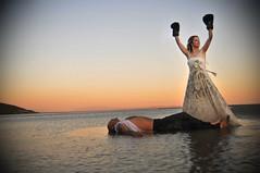 boxer bride photo by Yıldırım Danışman