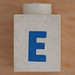 Lego Letter E