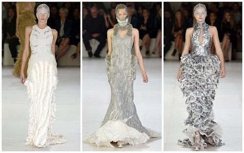 2012 Alexander McQueen 春夏巴黎時裝週2