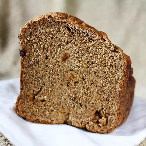 Whole Wheat Cinnamon Raisin Oatmeal Bread