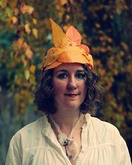 Self Proclaimed Queen of Autumn on 11-11-11 photo by lydiafairy