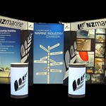 NZ Marine - International Boat Show exhibtion stand.