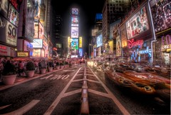 NYC - Time Square Horizon photo by navarob