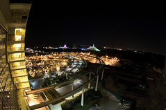 The Magic Kingdom and surrounding areas, as seen from the Contemporary photo by Groucho Dis