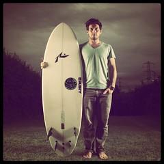 Surf self portrait surfer surfing beach board surfboard photo by www.thepaisley.co.uk