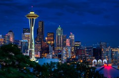 Seattle Kerry Park Blue Hour photo by Fresnatic