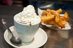 Churros & Chocolate photo by Arian Durst