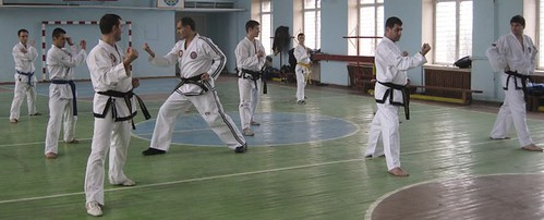 Training of trainers at Club Taekwon-Do Moldova Stolas Leukas