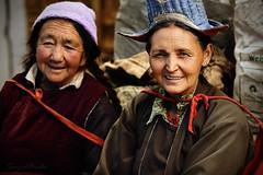 Portrait of Ladakhi women photo by Sayid Budhi