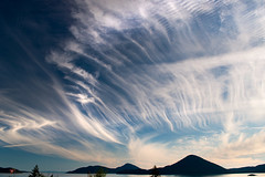 Brushed sky photo by Eric^^