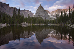 Mirror Lake & Lone Eagle Peak - Indian Peaks Wilderness, Colorado photo by Will Shieh