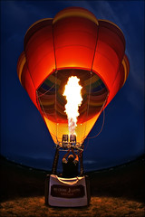 hot air balloon - children's miracle network photo by Dan Anderson.