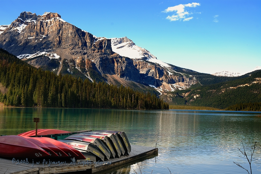 Emerald Lake Boat Dock