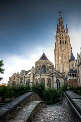 The Church of Our Lady, in Bruges photo by Luigi R. Viggiano
