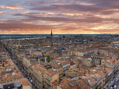 Bordeaux, vue aérienne - France photo by Emmanuel Cateau