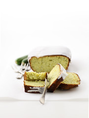 Zucchini lemon cake photo by AngelaBax