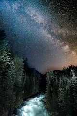 Cheakamus River and Milky Way photo by jon_beard