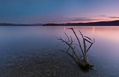 Lake Solina at dusk photo by Dariusz Wieclawski
