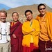 Тибет - с буддисткими монахами